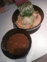 「焦がしにんにくつけ麺850円」@麺処 いっぱくの写真