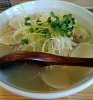 「極上はまぐり潮麺」@店内製麺 さくらの写真