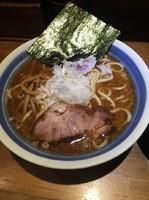 「飛優雅+小丼(鳥そぼろ丼)」@らーめん和屋  雅 国領駅前店の写真