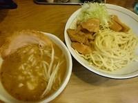 「つけめん(味噌)¥850+へた肉¥50=¥900」@麺処 慶の写真
