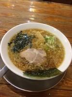 「醤油ラーメン(細麺)680円」@めん屋 桔梗の写真