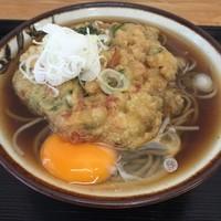 「かきあげ天(¥380)+玉子(¥50)」@むさしのの写真