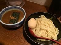 「つけ麺+味玉」@つけ麺専門店 三田製麺所 渋谷道玄坂店の写真
