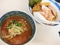 「特級つけ麺(中盛)¥700(メルマガクーポン使用)」@濃厚鶏豚骨魚介つけ麺 かず屋の写真