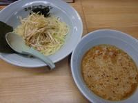 「ネギつけ麺(750円)」@ラーメンショップ なまず峠店の写真