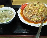 「チンピラチャーハン 750円」@味噌麺処 花道の写真