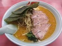 「特製味噌ネギチャーシュー麺(1070円)+大盛」@ラーメン山岡家 八千代店の写真