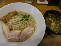 「柿酢のつけ麺 (塩) くじら食堂の麺ヴァージョン  850円」@麺屋KABOちゃんの写真