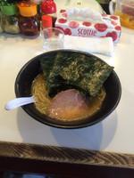 「ラーメン並650円」@THE らーめん ばち魂の写真