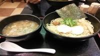 「濃厚鶏つけ麺(鶏骨醤油)」@麺匠 桂邸 OAP店の写真