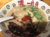 「赤丸新味(並)620円」@博多一風堂 大名店の写真