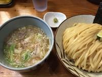 「塩つけ麺・大(950円)」@銀座 朧月の写真