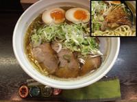 「鶏からラーメン+チャーシュー」@尼龍の写真