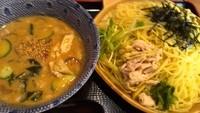 「冷しごま味噌つけ麺(780円)大盛同額」@汁麺屋 胡座の写真