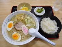 「『塩ラーメン定食(¥850)』」@大黒庵 本店の写真