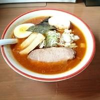「魚介パンチAKR 赤パン 大辛 @800円」@コクミンショクドウの写真