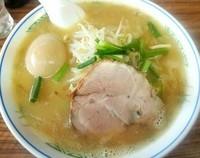 「福座ラーメン+煮玉子 (150523)」@麺や 福座の写真