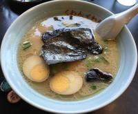 「らーめん+煮玉(¥600+¥100)」@くわんくわん 瀬谷本店の写真