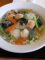 「えび塩麺」@一味の写真