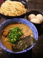 「2代目つけ麺(鯖)大盛り」@二代目 狼煙 ~心~の写真