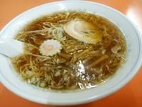 「ラーメン(並盛)650円」@やなぎ食堂の写真