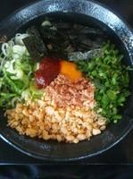 「台湾まぜそば」@つけ麺・ラーメン カガミハラ55の写真