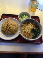 「ラーメン(orワンタンorつけ麺or冷やし中華+日替丼(この日は」@天宝の写真
