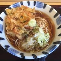 「かき揚げ天ぷら(¥360)」@そば新 御茶ノ水店の写真