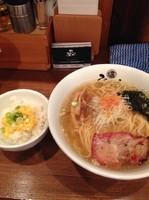 「塩ラーメン」@塩らーめん専門 ひるがお 大岡山店の写真