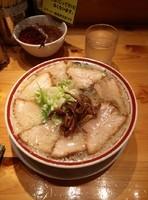 「肉そば(こってり)」@田中そば店 秋葉原店の写真