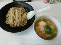 「白金つけ麺(並盛・200g)750円」@麺屋 承太郎の写真