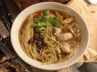 「【期間限定】稲庭中華そば(820円)」@麺や 七彩 東京駅の写真