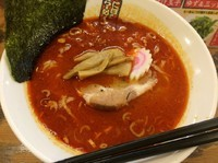 「辛煮干しラーメン【800円】」@煮干しらーめん 四代目 玉五郎 鶴橋店の写真
