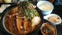 「濃濁(こうだく):肉盛」@麺屋 節と煮干の濃厚ばかっぷるの写真