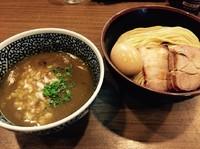 「味玉極濃煮干しつけ麺+中盛(¥50)」@煮干しつけ麺 宮元の写真