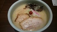 「しおらーめん・・870円」@らーめん 山頭火 越谷イオンレイクタウン店の写真