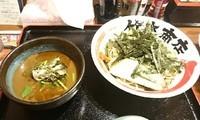 「マグロつけ麺」@竹本商店 札幌大磯マグロセンターの写真