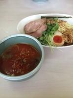 「冷やし坦々つけ麺」@あぢとみ食堂の写真