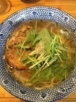 「飛魚そば(666円)」@必死のパッチ製麺所の写真