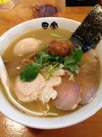 「【限定】特製紀州南高梅煮干そば  お茶漬け」@中華そば 田家 本店の写真