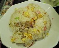 「チャーハン半ラーメン(醤油)セット 840円 ※」@謝謝ラーメンの写真