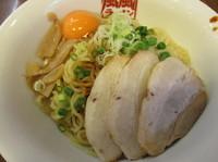 「油そば+生卵 「770円+100円」」@風々ラーメン 下赤塚店の写真