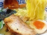 「濱塩らぁ麺(680円)」@濱塩らぁめん 白虎の写真