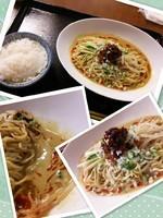 「冷やし汁なし胡麻辣麺980円」@野方食堂の写真