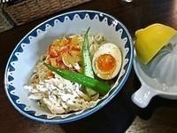 「フレッシュレモンの冷やし中華(¥900)」@GANCON NOODLEの写真