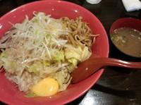「まぜ麺普通850円」@麺 GAKUの写真