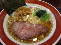 「しょうゆ (細麺)  650円」@麺処 懐やの写真