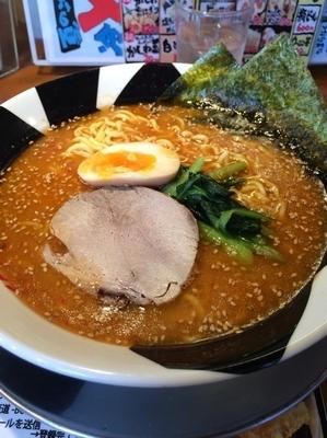 「味噌ラーメンネギ抜き」@つけ麺 おんのじ 仙台本店の写真