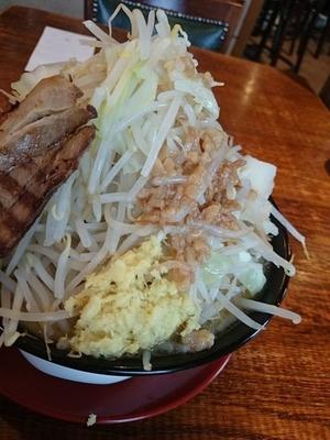 「ジパング麺、野菜増し、油少なめ、しょうが」@ジパング軒 宇都宮駒生店の写真