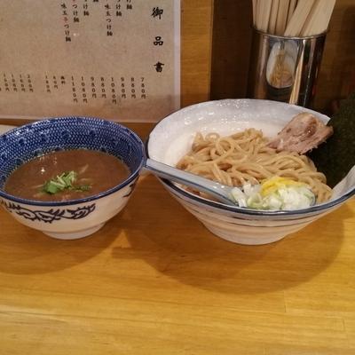 「濃厚つけ麺」@麺屋 海心の写真